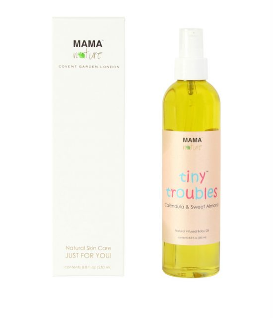 Tiny Troubles Calendula & Sweet Almond Natural Baby Oil