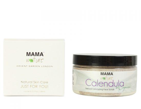 Calendula & Cupuacu Natural Exfoliating Face Scrub Cleanser