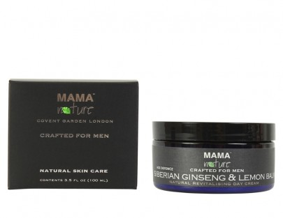 Men's Siberian Ginseng & Lemon Balm Natural Revitalising Day Cream (Age Defence Range)