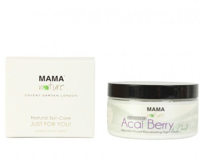 Acai Berry & Neroli Naturally Infused Rejuvenating Night Cream (AGE DEFENCE)